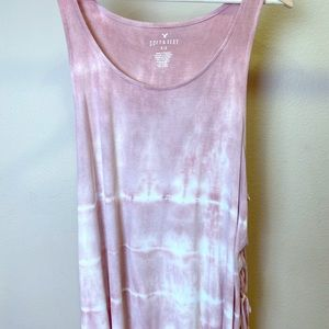 Pink Tye Dye Top